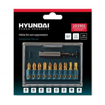 Набор бит Hyundai PH-PZ-SL/11 ШТ
