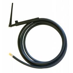 Горелка TIG 9V 110A (35%), M12x1, 4m, с вентилем