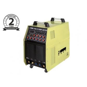 Аппарат аргоно-дуговой сварки TIG 315BP, AC/DC, 380В